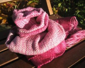 Mein Schal Rosenblüte