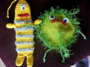 Bertil Banane und Froggy Franzig