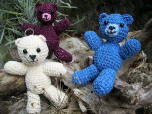 Das sind Whitey, Bärry und Blueberry